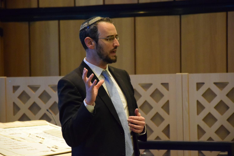 Zwi Perez Chajes Schule » Vortrag von Rabbiner Engelmayer